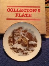 Collector's Plate-Currier & Ives in Warner Robins, Georgia