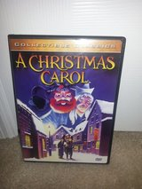 A Christmas Carol dvd in Camp Lejeune, North Carolina