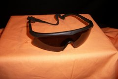 REVISION SAWFLY Matte Black/Smoke Z 87 Ballistic Shield Sunglasses w/Strap (T=40/6) in Fort Campbell, Kentucky