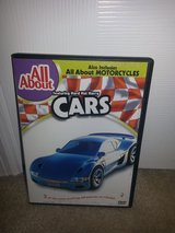 All About Cars/All About Motorcycles dvd in Camp Lejeune, North Carolina