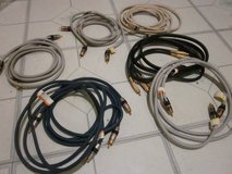 Monster audio wires and connectors in Naperville, Illinois