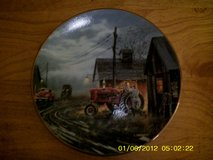 """Starting them Young""  Collectors Plate in Ottumwa, Iowa"