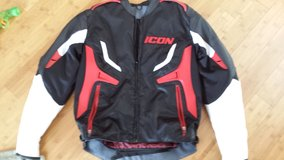 Leather/Textile Icon Jacket (Like New) in Clarksville, Tennessee
