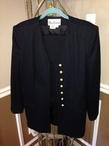 (Sz 16) Black Oleg Cassini SUIT, Women's in Baytown, Texas