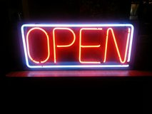 REDUCED!! LARGE NEON 'OPEN' SIGN in Fort Knox, Kentucky