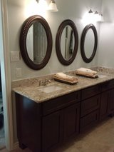 Cabinets / Stand up Shower in Pasadena, Texas